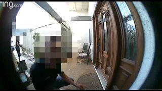 Caught on video: men going door to door, offering COVID testing