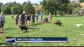 New dog park opens at Ann Morrison