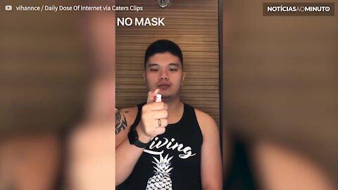 Médico esclarece diferença entre várias máscaras
