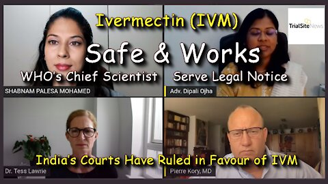 2021 JUN 10 IBA Serve Legal Notice on WHO Chief Scientist Court ruled in favour of Ivermectin Usage