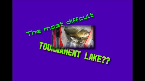 What is the most difficult Tournament lake