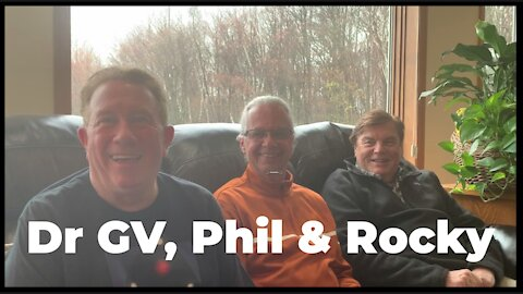 Dr Good Vibes: Phil & Agent Rocky