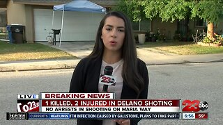 Shooting in Delano leaves one man dead
