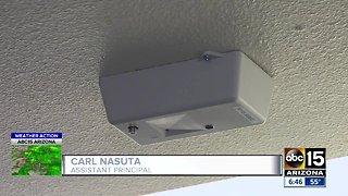 Valley middle school installs vapor sensors