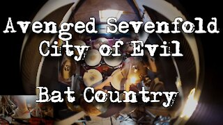 Avenged Sevenfold - Bat Country - Nathan Jennings Drum Cover