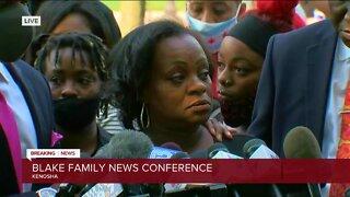 Jacob Blake's family provides an update in Kenosha