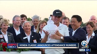 Honda Classic announces attendance numbers for the 2019 tournament