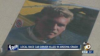 Local race car driver killed in Arizona crash