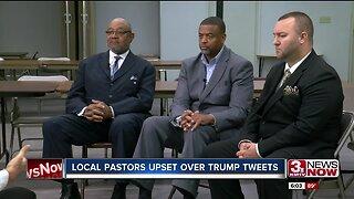 Local pastors upset over Trump tweets