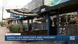 Barrio Cafe rebounds after pandemic