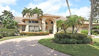 Typical Million Dollar Florida home