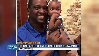 Heart failure leads to heart healthy restaurant