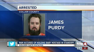 Golden Gate holds baby hostage in standoff