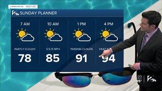 Saturday Night Forecast