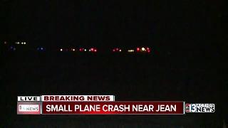 Small plane crashes near Jean