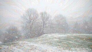 Eu me sinto como um floco de neve, vento frio, a solidão congela meu coração... [Frases e Poemas]