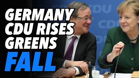 Merkel's CDU wins key state election. German Greens exposed as war party