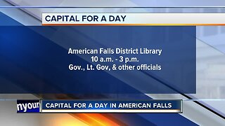 American Falls Capital for a Day Event