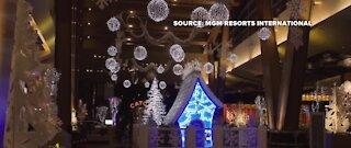 Aria hotel unveils Winter Wonderland display