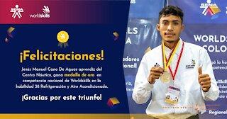 Jesús Cano, el joven ejemplo de Arjona que representará a Colombia