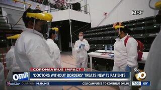 Doctors Without Borders treats virus patients in Tijuana