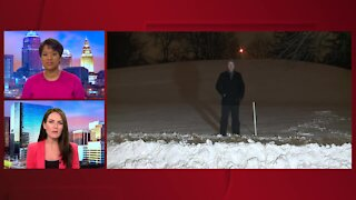 Winter weather cleanup begins