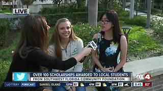 Southwest Florida Community Foundation awards 135 scholarships to local students - 8:30am live report