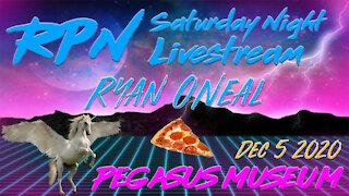The Pegasus Museum with Ryan O'Neal on Saturday Night Livestream