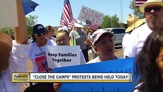 """""""Close the camps"""" protests being held Tuesday"""
