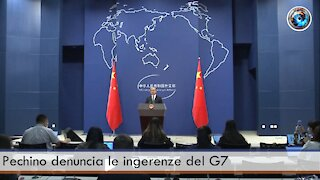 Pechino denuncia le ingerenze del G7