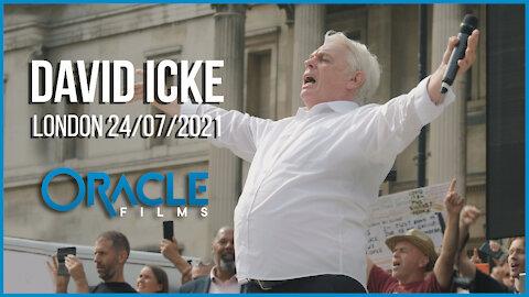 David Icke | Worldwide Rally for Freedom London 24/07/21 | Oracle Films