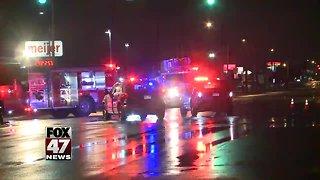 Police investigating Lansing accident