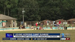 Johns Hopkins hosts summer camp for Pediatric Oncology patients