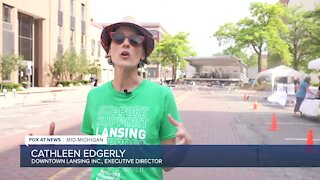 Cathleen Edgerly, Executive Director of Downtown Lansing Inc.