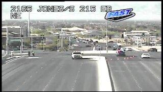 Nevada Highway Patrol trooper-involved crash