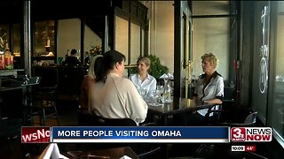 More people visiting Omaha