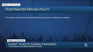 Ticketmaster Refunds