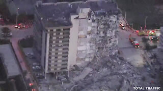 Rescuers rushing to partial building collapse near Miami Beach