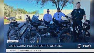 Cape Coral Police test new bike