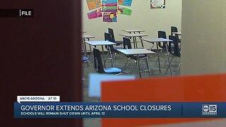 Governor extends Arizona school closures