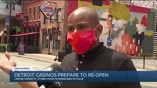 Detroit casinos prepare to reopen