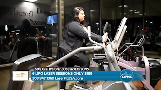 Fat Loss Made Easier // Affordable Lipo Laser Sessions // Laser Fit