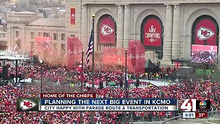 City leaders using Chiefs Parade as momentum to move forward