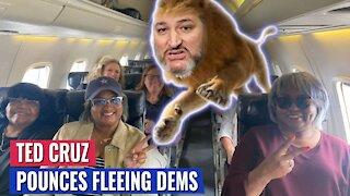LION TED CRUZ ROARS AT TEXAS DEMOCRATS FLEEING STATE: ARREST THEM ALL!