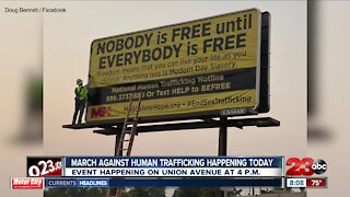 March against human trafficking happening today