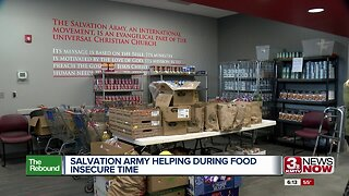 Salvation Army Helping With Food Insecurity