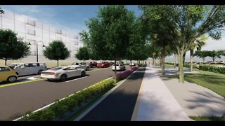 Construction begins on Banyan Blvd. in West Palm Beach
