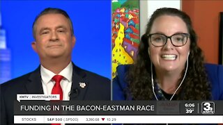 Tracking the money in the Eastman/Bacon race