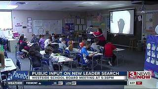 Westside School Board hosts open meeting on superintendent search