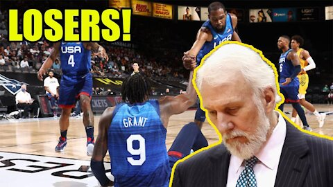 Team USA Basketball gets EMBARRASSED again in loss to Australia! Fans BOO them OFF THE COURT!